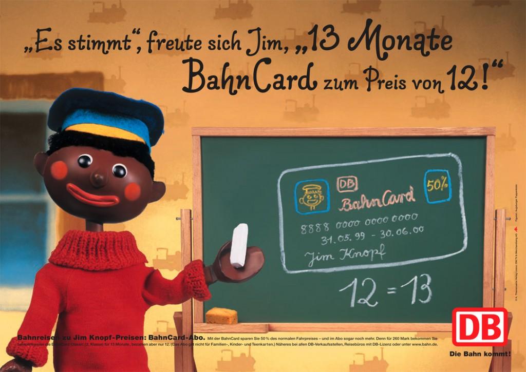 Jim Knopf Bahncard